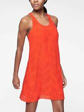 NWT Athleta $98 Brookfield Dress, On Fire, sz M Medium  #291871