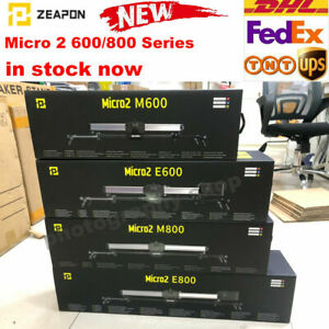 Zeapon Motorized Micro 2 M600 M800 Slider Distance Track For DSLR Camera