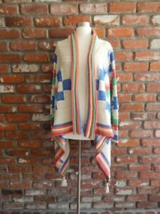 RALPH LAUREN ~ Chunky Knit Southwestern Navajo Cardigan Sweater NWT $398 ~ L/XL