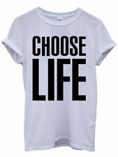 Choose Life T-Shirt Inspired By Wham! Fancy Dress T-Shirt
