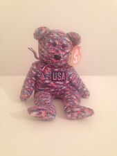 Beanie Baby USA Bear