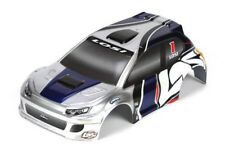 NEW Losi LOSB1794 1/24 4WD Rally Painted Body, Silver/Blue Micro Rally