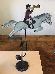 Pendulum Figure, Balance Figure Nodding Toy Huntsman With Horn