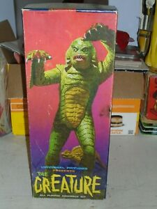 """Vintage Original Empty 1963 Box by Aurora """"The Creature from the Black Lagoon"""""""