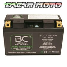 BATTERIE MOTO LITHIUM DUCATI	SUPERSPORT 1000 SS NUDA	2003 BCT12B-FP