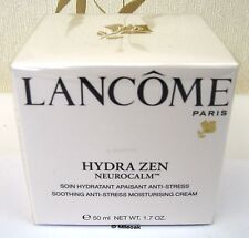 LANCOME HYDRA ZEN MOISTURISER 50ML- NO S.P.F. - CELLOPHANE SEALED