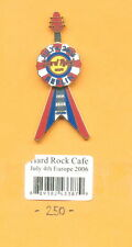 HARD ROCK CAFE PIN-BERLIN-JULY 4TH EUROPE 2006-WELTWEITE AUFLAGE 250 STÜCK-HRC-