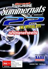 OFFICIAL Street Machine SUMMERNATS 22 DVD. BURNOUTS, V8s, V8 Muscle Cars + More