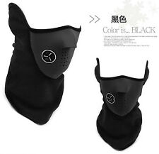 Black Color New Sport Unisex Winter Warm Half Face Mask Cover Free Postage