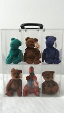 "12""x8""x15 Portable Plastic Acrylic Display Case Box Action Figures Beanie Babies"