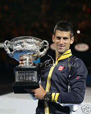 Novak Djokovic 2013 Australian Open Tennis 8X10 Photo #1