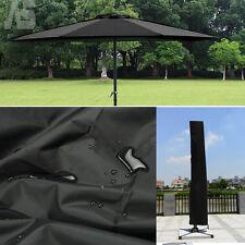 Weatherproof Banana Cantilever Outdoor Patio Parasol Umbrella Protective Cover