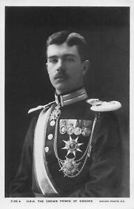 THE CROWN PRINCE OF SWEDEN RP 1909 PUBLISHER ROTARY