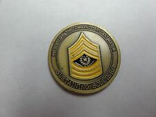 CHALLENGE COIN COMMAND SERGEANT MAJOR LOGISTICS WARRIORS AMERICAS ARMY