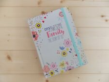 NEW MEMORY JOURNAL MY AWESOME FAMILY HISTORY KEEPSAKE RECORD BOOK BEAUTIFUL GIFT