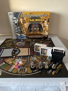 Trivial Pursuit DVD-STAR WARS-Saga Edition-Board Game-Family-Friends-Party-Skill