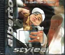 """ALBERTO STYLEE - """" LOS DUEÑOS DE LA DISCO""""- NICKY JAM, DADDY YANKEE - CD"""