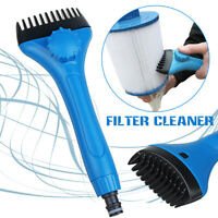 Water TechniX WaterWand Pool Spa Cartridge Filter Hose Water Wand Cleaner Brush