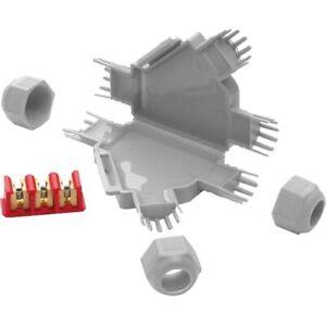 Gelgefüllte Verbindungsmuffe FRED Y inkl. Klemmbock 3x2,5mm²