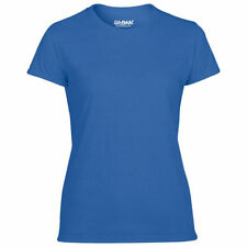 Magliette da donna blu con girocollo taglia 42