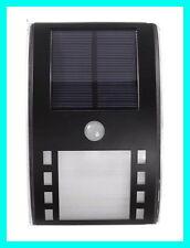Solar Power Motion Pathway LED Light PIR Security Wall Garden Deck Street