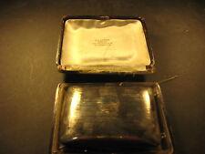Sterling Silver wallet w/chain, mirror, coin slots, original box