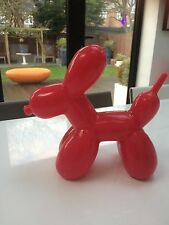 Iconique Balloon dog Jeff Koons pop art