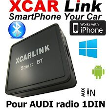 XCARLink Smart BT pour AUDI A2,A3,A4,A6,A8,TT radio 1DIN