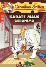 Stilton, G: Karate Maus Geronimo von Geronimo Stilton (2012, Taschenbuch)