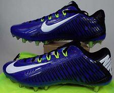 New Mens 10.5 NIKE Vapor Carbon ELT 2014 TD Blue Cleats Shoes $160 631425-411