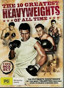 The 10 Greatest Heavyweights Of All Time (DVD, 2011, 3-Disc Set) NEW & Sealed