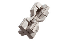 Huzzle Hourglass Cast Puzzle by Hanayama - Difficulty Rating 6