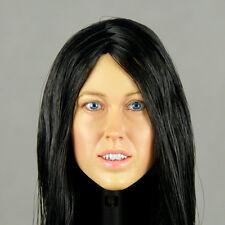 1/6 Phicen, Hot Stuff, Kumik, Nouveau Toys - Blackhair Female Head Sculpt Corina