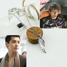 Korean Fashion EXO KRIS BTS Flying Wing Necklace Made in Korea X1917