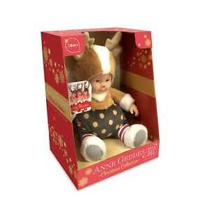 ANNE GEDDES Baby Puppe Rentier -23cm- VORBESTELLUNG