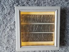 #3 Display Light box Frame Grand Tour Intaglios Medallions Seals friezes Pewter