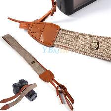 Adjustable Shoulder Neck Strap Belt Band Rope Anti-slip for DSLR SLR Camera SR Brown