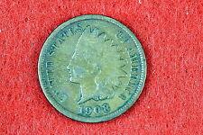 ESTATE FIND 1908 Indian Head Cent!! #D1896