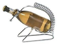 Chrome bottig. VINO supporto. migliora la tavola con questo porta vino in metallo