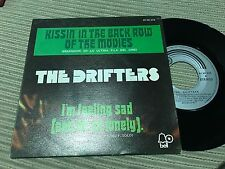 """DRIFTERS SPANISH 7"""" SINGLE SPAIN KISSIN' IN THE BACK ROW OF THE MOVIES - SOUL"""