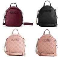 Janelle Backpack Style Crossbody Handbag Logo Embossed 4 Color Bags NWT SP743370