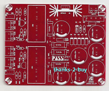 Single-stage Preamp Audio Board Bare PCB Base on PASS JEFT BOZ Preamplifier