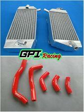 FOR Honda CRF450R CRF450 2005 2006 2007 2008 05 06 07 08 radiator&hose RED