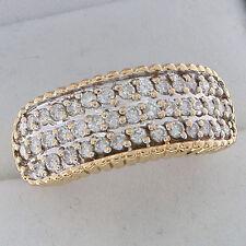 Diamond Band Yellow Gold 18 Carat Fine Rings