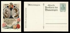 DR WHO 1911 GERMANY MITTEILUNGEN POSTCARD STATIONERY C186167