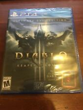 PS4 Diablo III 3 Reaper of Souls Ultimate Evil Edition (PlayStation 4, 2014)NEW