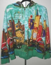 Las Vegas Hoodie Embellished Hooded Jacket by French Postcards 1x HSN