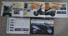 1998 Suzuki Burgman 250cc Bicicleta de ciclo de Motor Scooter De Lujo folleto de ventas