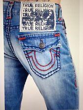 TRUE RELIGION RICKY W/FLAP SUPER-T MEN JEAN PALE HORIZON M859NAAJ NWT 38W $329