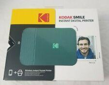 Sealed ! Kodak Smile Instant Digital Bluetooth Printer Mini Green -Free Shipping